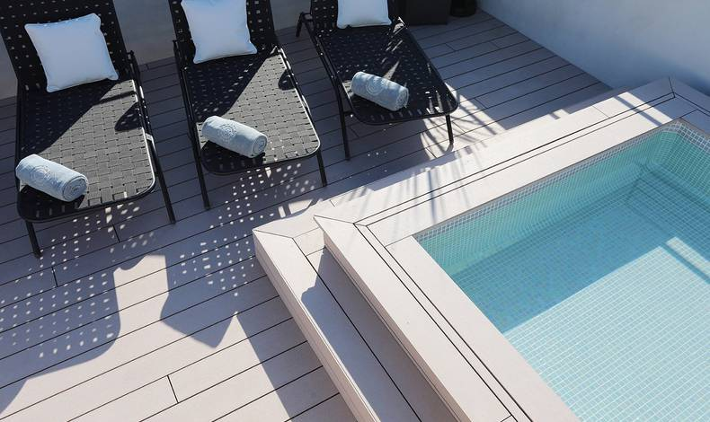 Solarium and Pool Summum Prime Boutique Hotel Palma